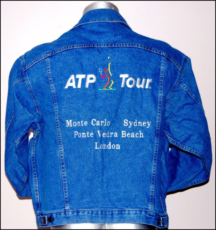 ATP TOUR  Denim Tennis Jacket  (Men