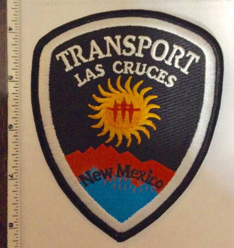 Las Cruces New Mexico TRANSPORT Police Shoulder Patch New