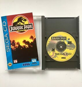 Sega CD Game Jurassic Park