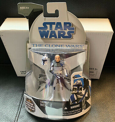 STAR WARS CLONE WARS CAPTAIN REX MAIL-IN FIGURE MAILER BOX SEALED NEW 2008