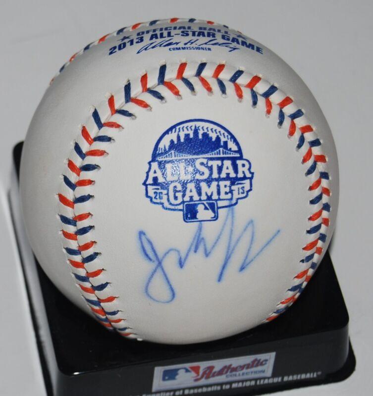 JEFF LOCKE signed 2013 ALL STAR OML baseball *MIAMI MARLINS* PIRATES W/COA