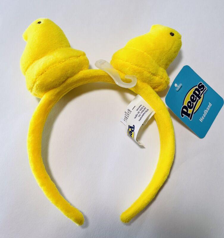 Peeps  Yellow Headband For Kids, New .