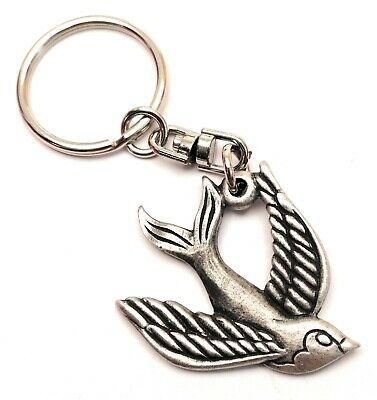 Jigsaw Puzzle Piece Pewter Key Ring Gift Pouch FREE UK Delivery!