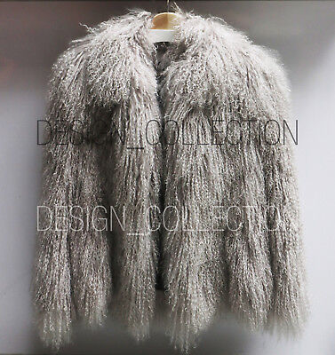 CREATURES OF THE WIND mongolian lamb coat rare (size 6-OP: 3500USD)