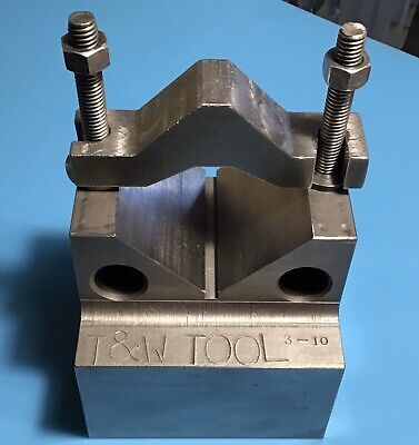 Large Capacity V-block Wclamp. Used. Nice Condition