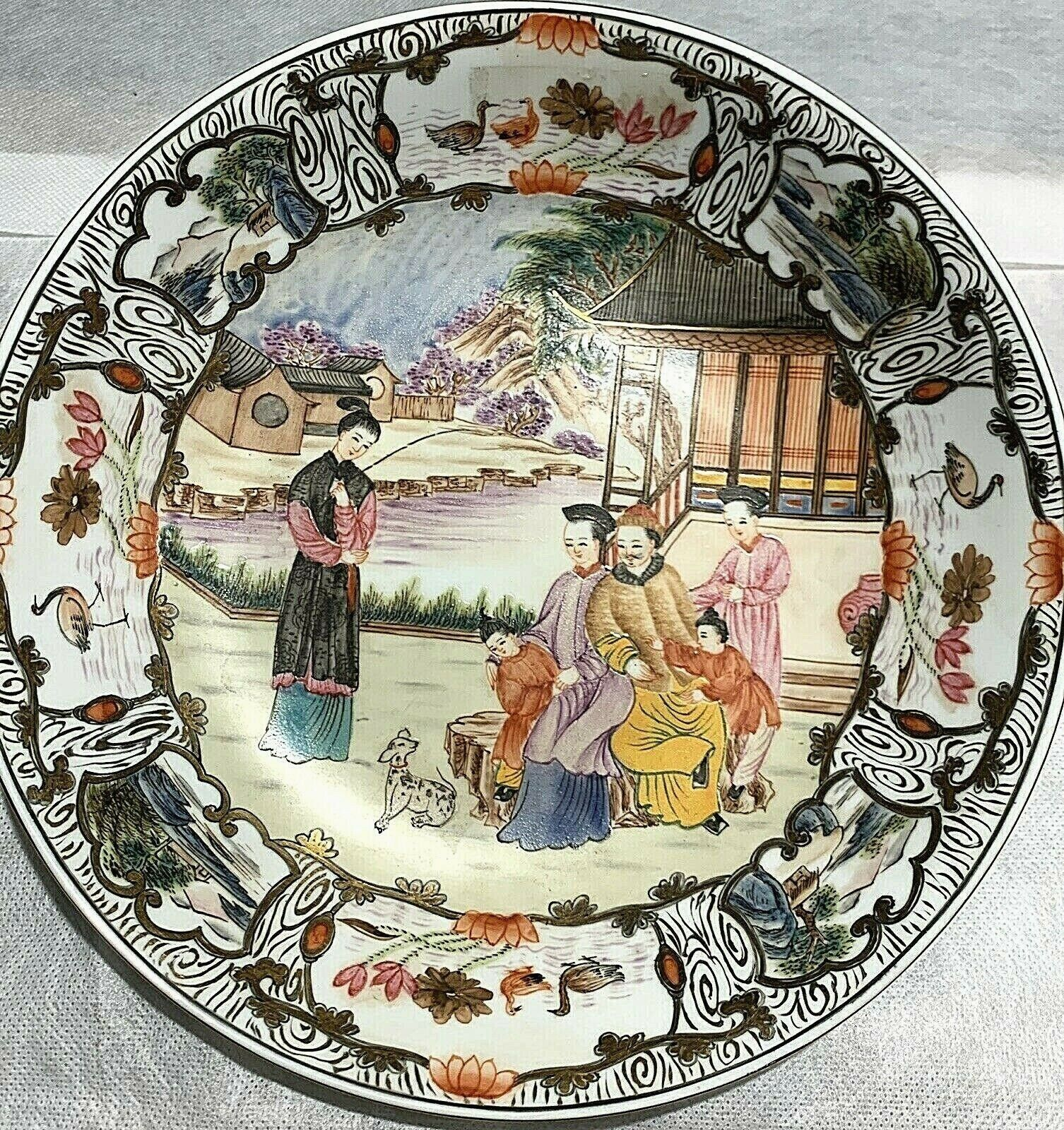 Rare Chinese Export Porcelain Charger - $275.00
