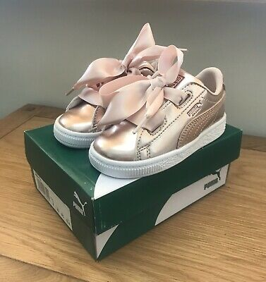 Puma Heart Lunar Lux Infant Trainers