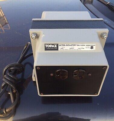 Topaz Line Noise Suppressing Ultra Isolator 91001-12