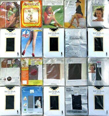 10 x STRUMPFHOSEN - TIGHTS - MURA - ESDA - IRIS - VINTAGE - OVP - GR. 48 - 50 online kaufen