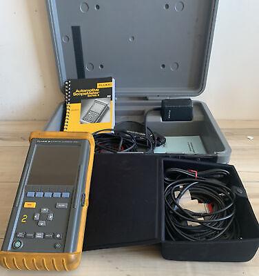 Fluke 98 Automotive Scopemeter Series Ii With Shown Accessories