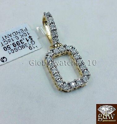 Real 10k Gold & Diamond Letter