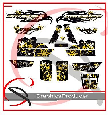 Yamaha Banshee Graphics Full Set Wali Bee Decals Graphics Stickers Replica Style