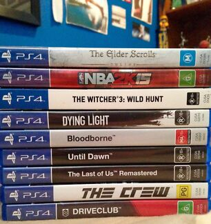PS4 games + accessories clearance AS NEW Chelsea Kingston Area Preview