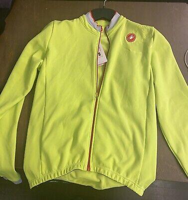 Castelli Bike Winter Jacket Large New