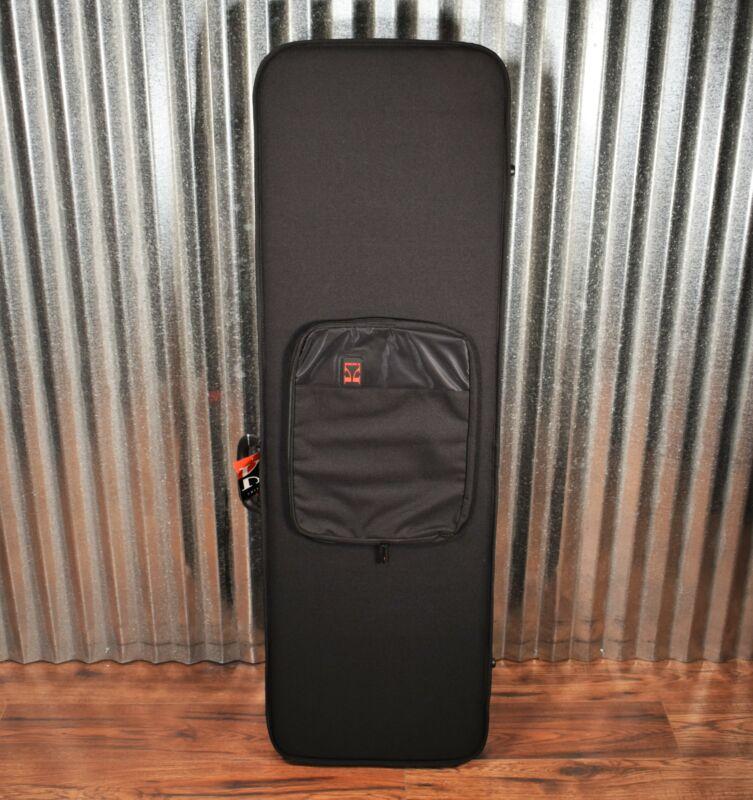 Kaces KPG-208 Xpress Series Boutique Style Polyfoam Black Bass Soft Side Case