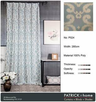 (Made To Order)Super Jacquard Curtain (P024)