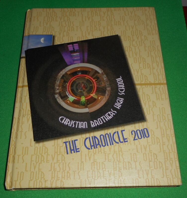 """CHRISTIAN BROTHERS HIGH SCHOOL, MEMPHIS, TN. """"THE CHRONICLE 2010 YEARBOOK-NICE!"""