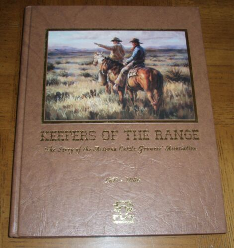 """NEW AUTOGRAPHED HARDCOVER BOOK -""""KEEPERS OF THE RANGE"""" BY ADELE CONOVER"""