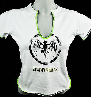 """Bacardi Rum, T-Shirt Women, weiß, Gr. M, V-Ausschnitt,""""Stormy Night"""""""