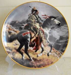 Indian Warrior Plates, Heritage Museum Limited Editions Nollamara Stirling Area Preview