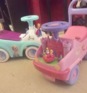 Two toddler ride on toys
