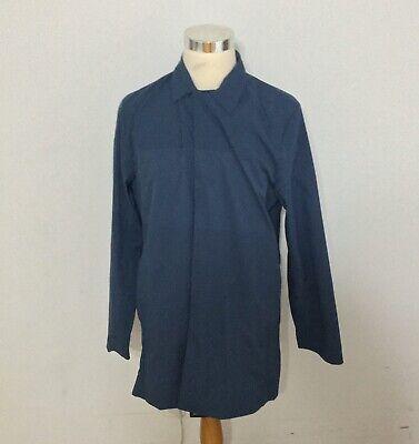NWT Men's DESCENTE ALLTERRAIN Schematech Air Bal Collar Coat, X-Large, Navy