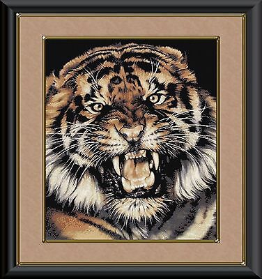 ANGRY TIGER~DELICA BEAD PEYOTE PATTERN ONLY