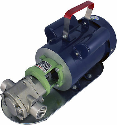 Power Stainless Steel Wcb50 Mini-gear Oil Pump 13 Gpm Wmo Wvo Biodiesel Motor