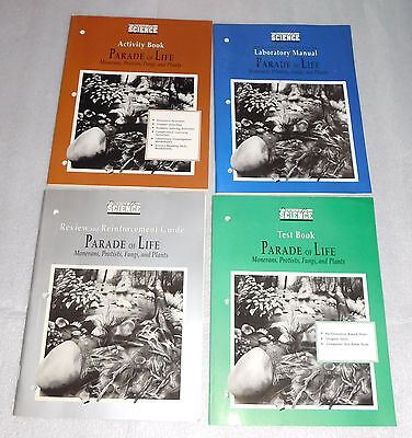 Prentice Hall Science 4 Activity Books Lot Ecology Earth Living Resource 6th-8th Activity Books Earth Science
