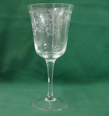 Noritake Crystal Adagio Water Goblet Stem More Items Available