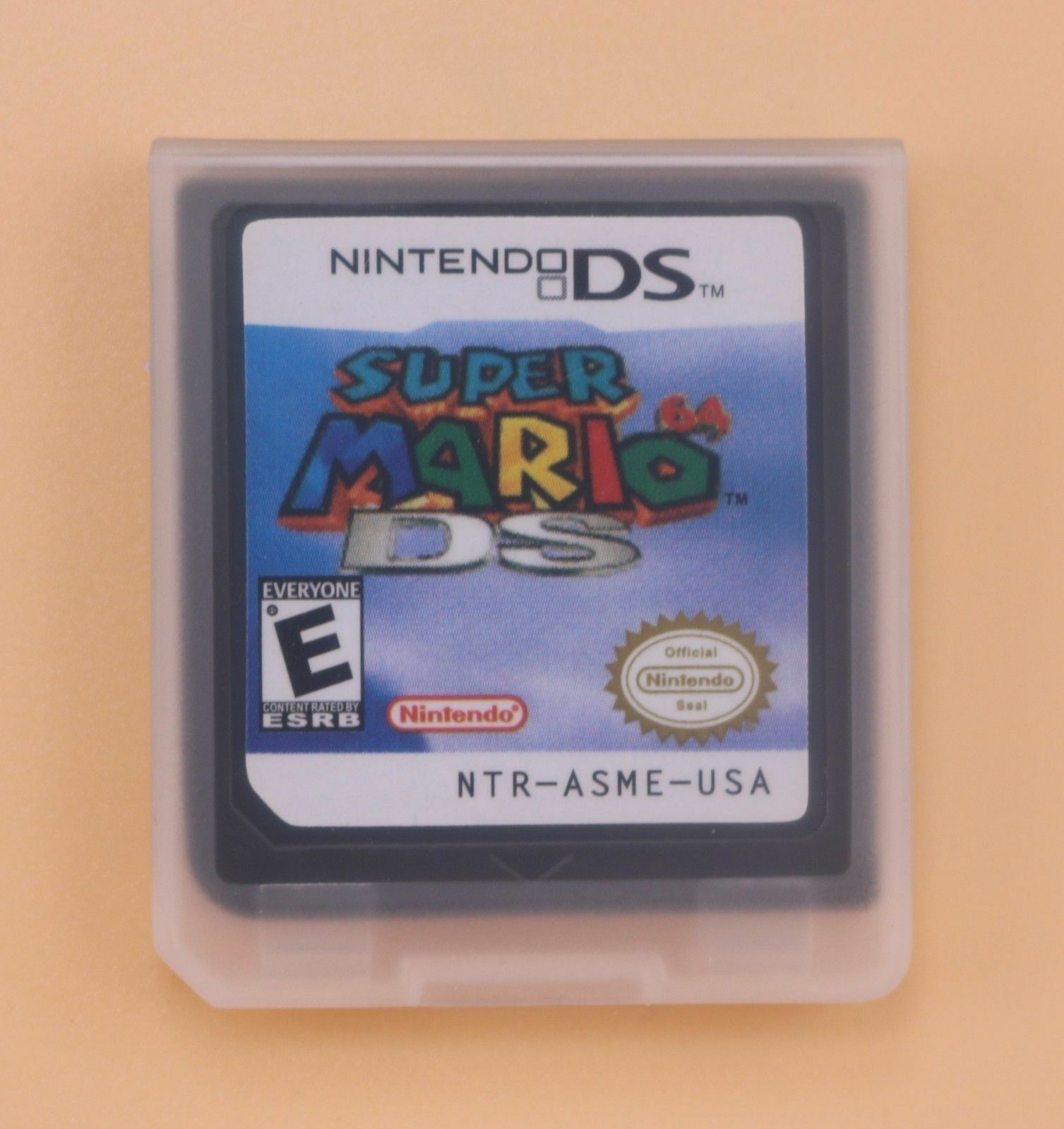Super Mario 64 DS Game Card For Nintendo NDSL DSI DS 3DS XL