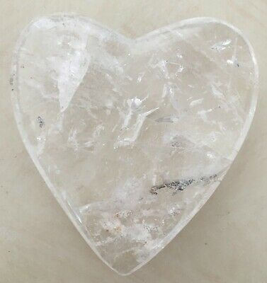 Used, Quartz Heart Clear Crystal Stone Geode Druzy Druze Healing Reiki Metaphysical for sale  West Hollywood