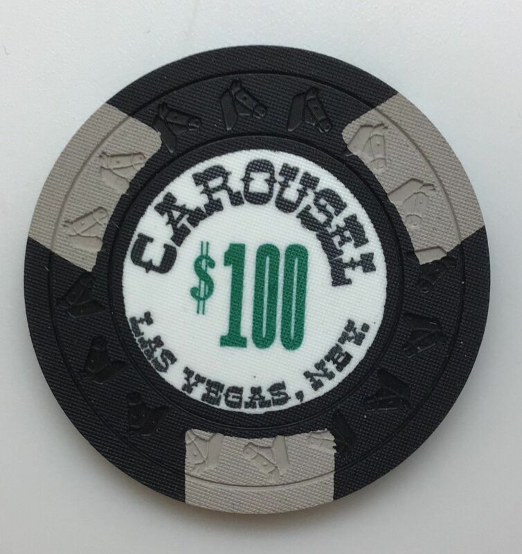Carousel Casino Las Vegas NV $100 Chip 1967