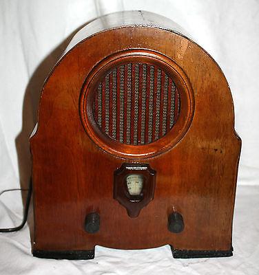 Volksempfänger Radio Holzgehäuse toller Klang funktionsfähig ,Hingucker