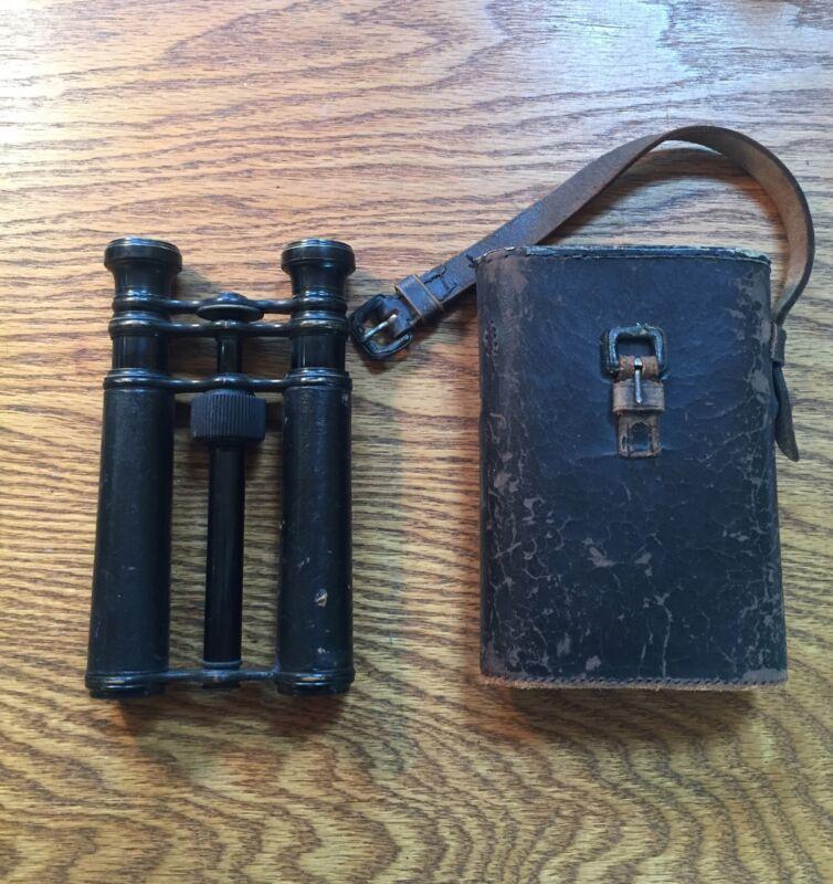 Antique Queen & Co Philadelphia Binoculars The Queen Model