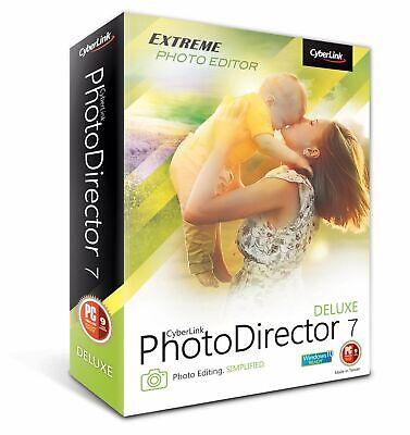 CyberLink PhotoDirector 7 Deluxe - dauerhafte Vollversion Windows