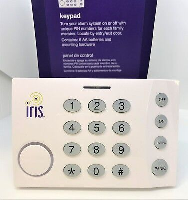 New Lowes Iris Security Keypad Home Alarm