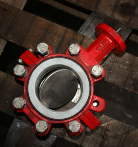 """BRAY CONTROLS Lugged Butterfly Valve 4"""" inch DN100 100mm with PTFE liner"""