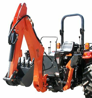 Farmer Helper Tractor Backhoe 8dig 3-pt Self Contained Pto Cat.i 30hp