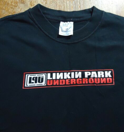 Vintage Linkin Park Underground T Shirt (Medium)