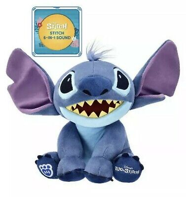 BNWT Build A Bear Lilo & Stitch - Stitch with Sounds  Confirmed Order Sold Out!