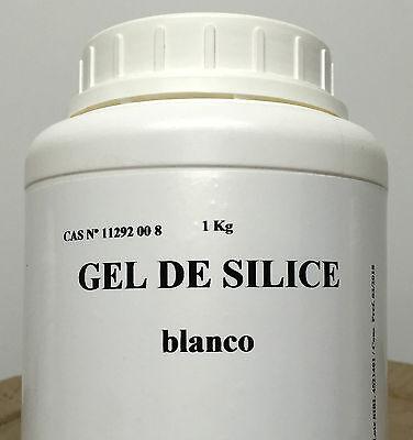Envase de 1 Kg GEL DE SILICE BOLITAS 2/4 MILIMETROS DE DIAMETRO.