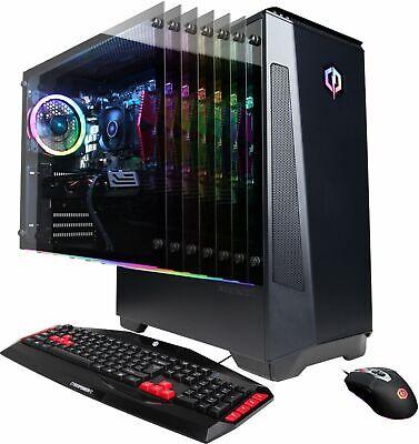 CyberPowerPC GMA4200BST Gaming Desktop PC AMD Ryzen 5 3600 2