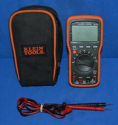 Klein Tools Mm1300 Electricians Hvac Backlit Voltage Current Multi Tester Meter