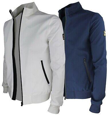 Giubbotto uomo slim fit giubbino estivo impermeabile giacca primavera RDV