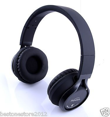 Metal Hi-Fi Stereo Bluetooth Headphones headset for All Cell