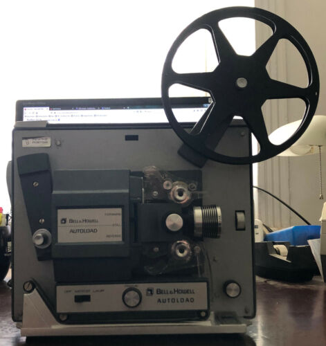VINTAGE BELL & HOWELL 357A AUTOLOAD SUPER 8 FILM PROJECTOR