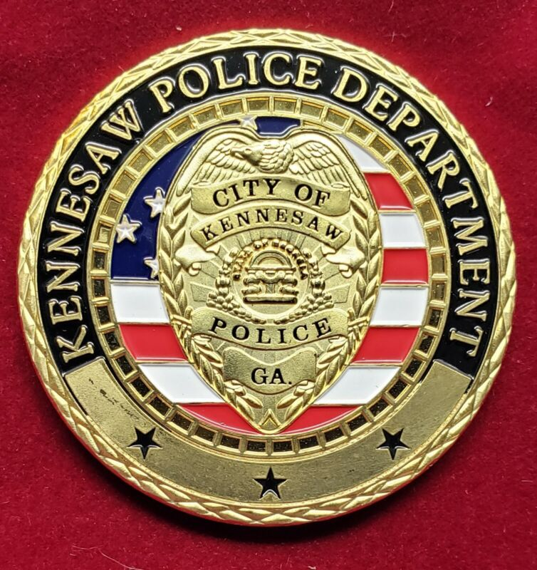 KENNESAW GEORGIA POLICE DEPARTMENT COIN
