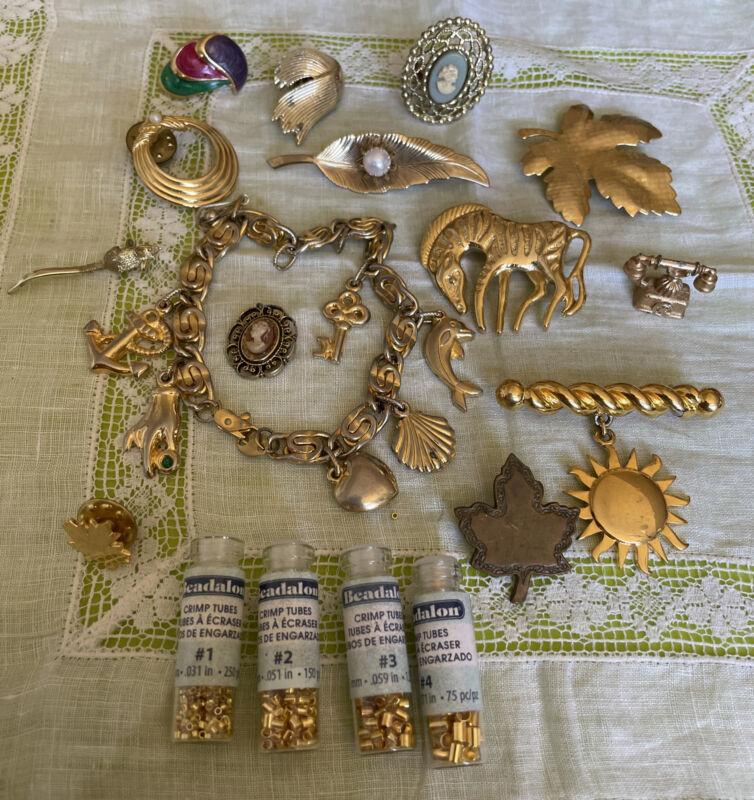 Crafting Jewelry Create Repurpose Parts Repair CRF3-12
