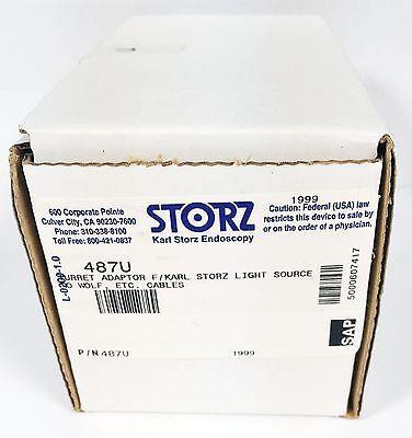 Storz 487u Turret Adaptor Storz Light Source